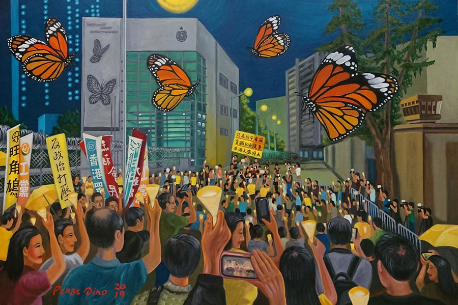 Hong Kong pintura | elpulpo blog